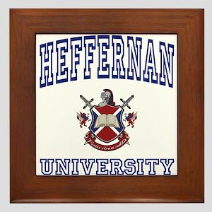 HEFFERNAN University Framed Tile