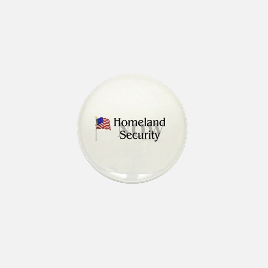 Homeland Security Now Mini Button