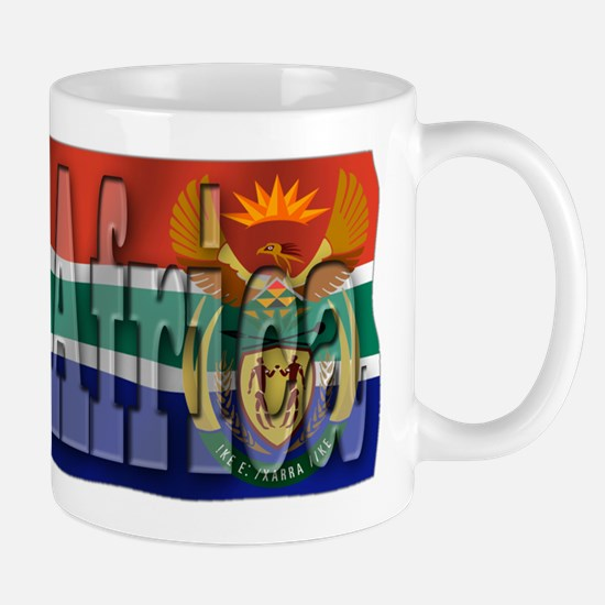 Silky Flag of South Africa Mug