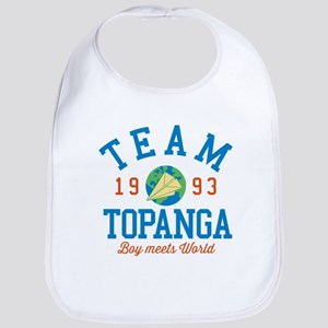 Team Topanga Boy Meets World Baby Bib