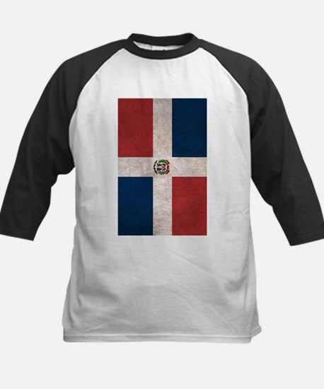 Dominican Republic Flag Vintage / Distressed Baseb