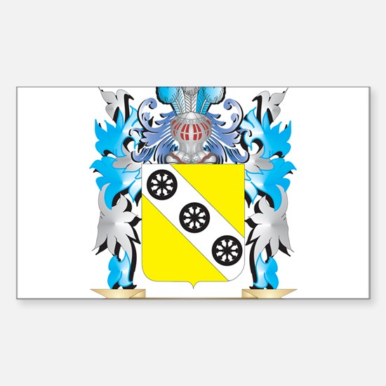 Devos Coat of Arms - Family Crest Decal