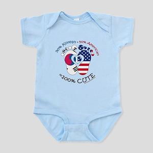 Korean American Baby Infant Bodysuit