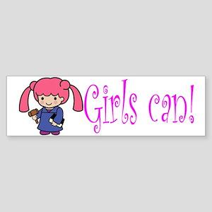 Girl Judge Bumper Sticker