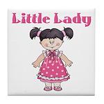 Little Lady Tile Coaster