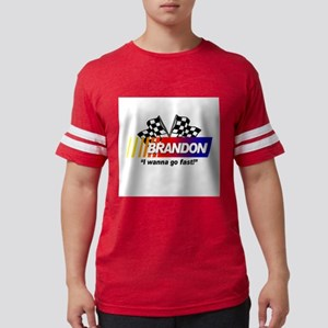 Racing - Brandon Ash Grey T-Shirt