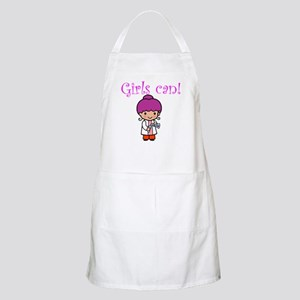 Girl Scientist BBQ Apron