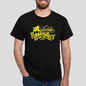Kiteboard Dog - Yellow - Dark T-Shirt