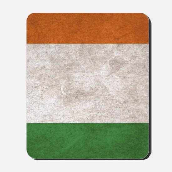 Ireland Flag Vintage / Distressed Mousepad