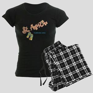St. Augustine - Women's Dark Pajamas