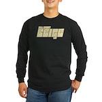 All About Beige Long Sleeve Dark T-Shirt
