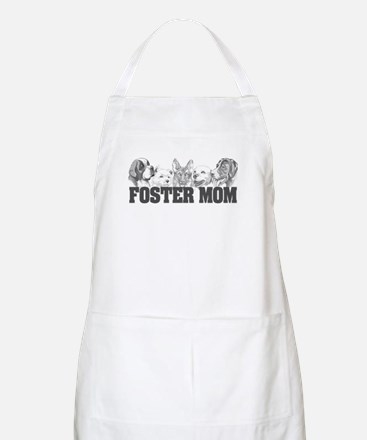 Foster Mom (dogs) BBQ Apron