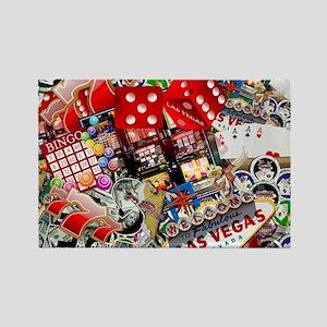 Las Vegas Icons - Gamblers Delight Magnets