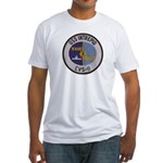USS INTREPID Fitted T-Shirt