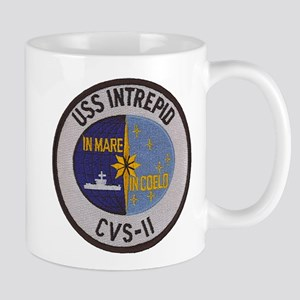 USS INTREPID 11 oz Ceramic Mug
