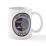 USS INTREPID 11 oz Ceramic Mug