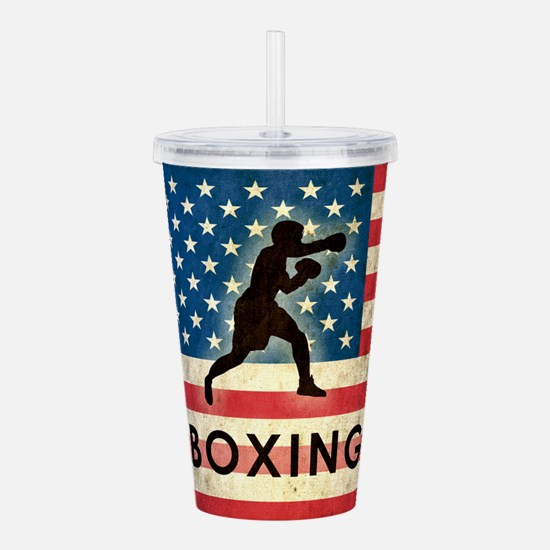 Grunge USA Boxing Acrylic Double-wall Tumbler
