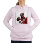 Football Players Women's Hooded Sweatshirt