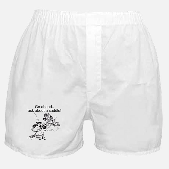NH Go Ahead Ask Boxer Shorts