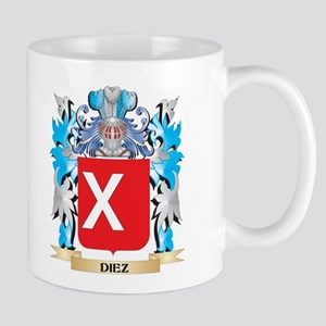 Diez Coat of Arms - Family Crest Mugs