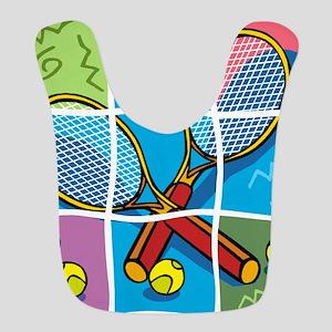 Tennis Puzzle Bib