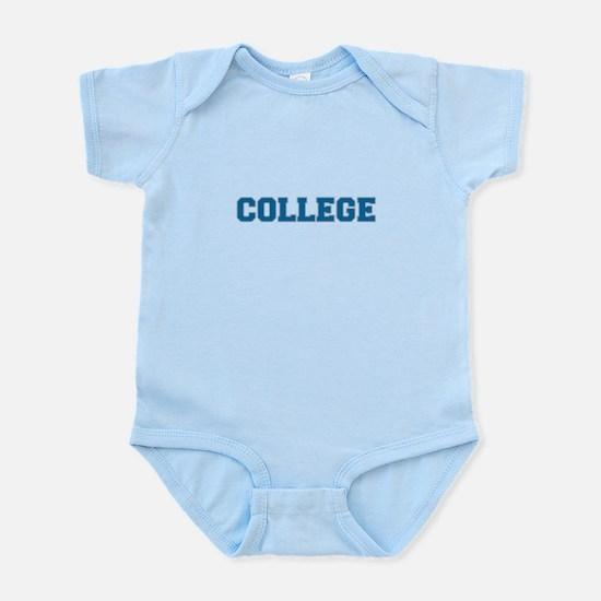 COLLEGE - Blue Body Suit