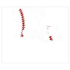 Softball T Shirt Proud Dad Baseball Shirt Wall Art Poster
