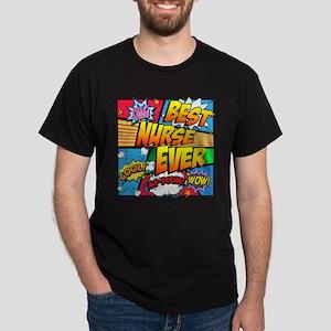 Best Nurse Ever Dark T-Shirt