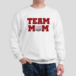 Baseball Team Mom Sweatshirt