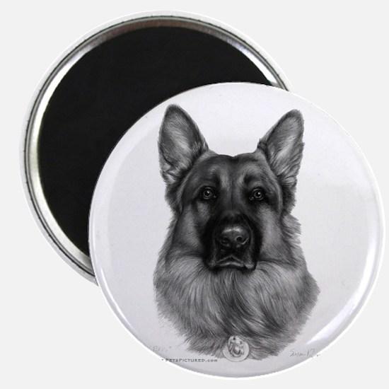 Rikko, German Shepherd Magnet