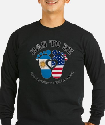 Argentinian American Dad to Be Long Sleeve T-Shirt
