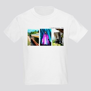 Rock City, Ruby Falls, Inclin Kids Light T-Shirt