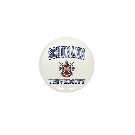 SCHUMANN University Mini Button
