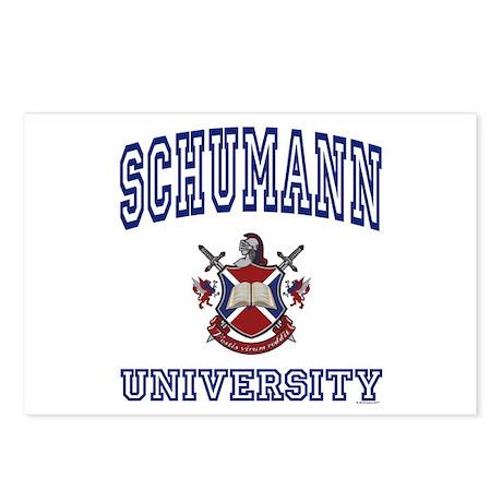 SCHUMANN University Postcards (Package of 8)