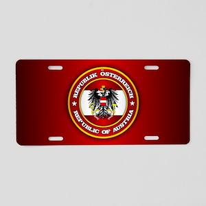 Austria Emblem Aluminum License Plate