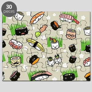 Sushi Characters Pattern Puzzle