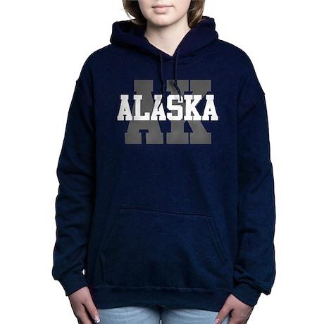 Ak Alaska Cafepress 1368321106 Felpa Pullover con cappuccio 8qnw4wBHP