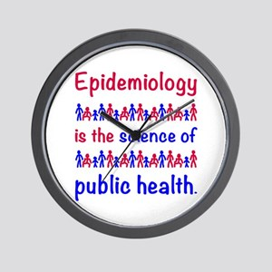 Epi is sci of publ hlth Wall Clock