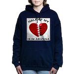 Heart In Arizona Women's Hooded Sweatshirt
