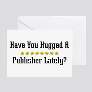 Hugged Publisher Greeting Cards (Pk of 10)