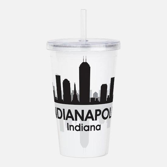 Indianapolis Skyline Acrylic Double-wall Tumbler