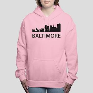 Baltimore Skyline Women's Hooded Sweatshirt