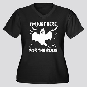 I'M JUST HERE FOR THE BOOS Plus Size T-Shirt