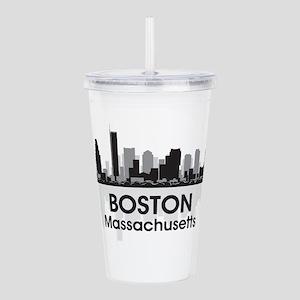 Boston Skyline Acrylic Double-wall Tumbler