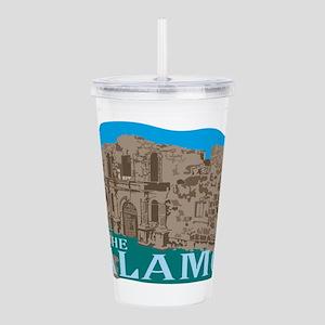 The Alamo Acrylic Double-wall Tumbler