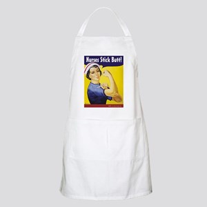 Nurses stick butt! BBQ Apron