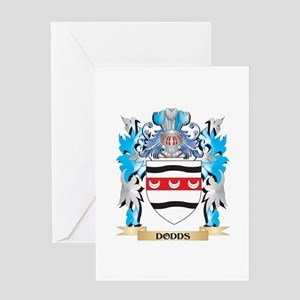 Dodds Coat of Arms - Family Crest Greeting Cards
