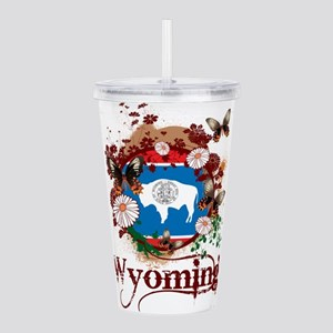 Butterfly Wyoming Acrylic Double-wall Tumbler