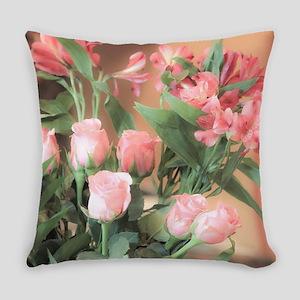 Rose Bouquet 2 Everyday Pillow