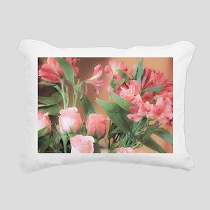 Rose Bouquet 2 Rectangular Canvas Pillow